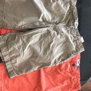 2 pairs of boys size 10 Old Navy shorts